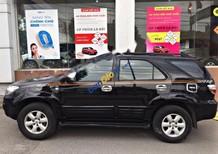 Cần bán xe Toyota Fortuner 2.7V 4x4AT đời 2009, màu đen chính chủ