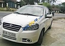 Cần bán gấp Daewoo Gentra đời 2010, màu trắng, đăng kí biển 81A-12359 số rất đẹp