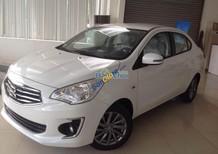 Cần bán xe Mitsubishi Attrage mới 2017, màu trắng, nhập khẩu, hỗ trợ vay 80%-100%, liên hệ: Đông Anh 0931911444