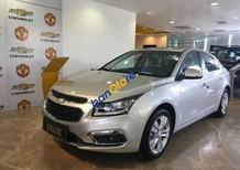 Cần bán xe Chevrolet Cruze LTZ đời 2016, màu bạc, giá chỉ 639 triệu