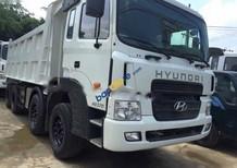 Bán lô 4 xe ben 4 chân Hyundai HD370 nhập khẩu Hàn Quốc đời 2010, màu trắng