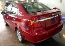 Bán ô tô Chevrolet Aveo LT đời 2016, màu đỏ