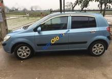 Mình bán Hyundai Getz đời 2008, màu xanh lam, nhập khẩu xe gia đình