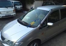 Cần tiễn gấp Mazda Premacy AT đời 2002, màu bạc