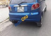 Gia đình bán ô tô Daewoo Matiz đời 2005, màu xanh lam, 82 triệu