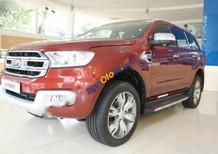 Bán ô tô Ford Everest Titanium 2.2AT năm 2017, màu đỏ, xe nhập