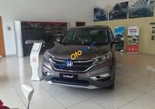 Cần bán xe Honda CR V 2017, màu xám