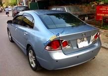Cần bán xe Honda Civic 2.0AT đời 2007, màu xanh lam xe gia đình