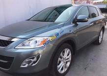 Cần bán Mazda CX 9 3.7 AWD đời 2012, màu xanh lam, nhập khẩu