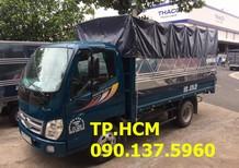 Cần bán Thaco OLLIN 500B đời 2017, màu xanh lam, giá chỉ 356 triệu