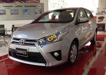 Bán xe Toyota Yaris năm sản xuất 2017, màu bạc