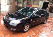 Cần bán lại xe Toyota Corolla altis 1.8MT đời 2003, màu đen