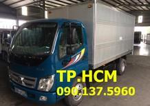 Cần bán Thaco OLLIN 345 đời 2017, màu tím, 318tr