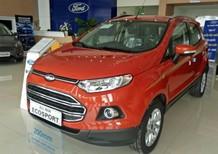 Cần bán Ford EcoSport Titanium đời 2017, màu đỏ