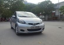 Cần bán xe Toyota Aygo 2011, màu bạc, xe nhập, máy móc êm ru, xe nguyên bản, không đâm đụng, không ngập nước