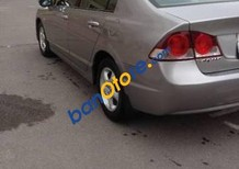 Cần bán lại xe Honda Civic đời 2008, màu xám