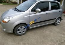 Bán xe cũ Chevrolet Spark đời 2011, màu bạc số sàn, giá chỉ 175 triệu