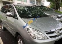 Bán xe cũ Toyota Innova đời 2006, màu bạc xe gia đình