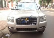Bán xe Ford Everest 2.5MT, sản xuất 2007, số sàn, màu vàng đen, lắp ráp trong nước