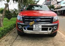 Bán xe cũ Ford Ranger Wiltrak 3.2 sản xuất 2015, màu đỏ