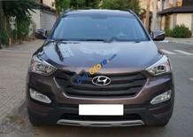 Bán Hyundai Santa Fe GAT 2013, màu nâu, 7 chỗ
