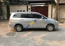 Cần bán xe Toyota Innova G đời 2010, màu bạc ít sử dụng, giá tốt