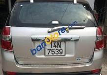 Cần bán gấp xe cũ Chevrolet Captiva năm 2009, màu bạc