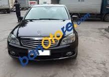 Bán gấp Mercedes C200 năm 2009, màu đen, xe nhập