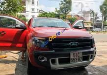 Bán xe Ford Ranger Wiltrak 3.2 sản xuất 2015, màu đỏ như mới, 700 triệu
