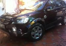 Bán ô tô Chevrolet Captiva LT năm 2010, màu đen