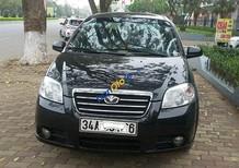 Bán Daewoo Gentra năm 2009, màu đen chính chủ, 208 triệu