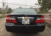 Cần bán gấp Toyota Camry 2.4 G sản xuất 2003, màu đen chính chủ