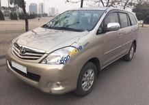 Bán ô tô Toyota Innova 2.0G đời 2011, màu vàng chính chủ, 470tr