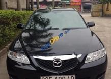 Xe Mazda 6 MT đời 2004, màu đen xe gia đình, giá 295tr