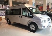 Bán xe Ford Transit sản xuất 2018, màu bạc giá cạnh tranh