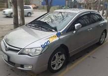 Bán ô tô Honda Civic 2.0AT đời 2008, màu bạc