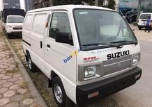 Cần bán xe Suzuki Super Carry Van trắng, sản xuất 2017, giao xe tận nơi