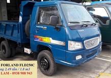 Cần bán Thaco FORLAND  FLD250C sản xuất 2017, xe ben 2.5 tấn Trường Hải chạy trong thành phố