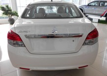 Bán xe Mitsubishi Attrage sản xuất 2017, màu trắng, nhập khẩu giá cạnh tranh