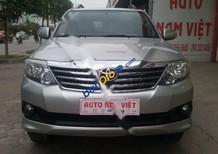 Auto Nam Việt bán Toyota Fortuner V 4x2AT sản xuất 2013, màu bạc