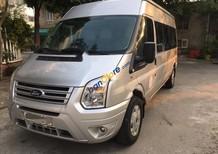 Bán Ford Transit đời 2014, màu bạc, xe dầu, xe công ty xuất hoá đơn