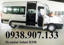 Chuyên dòng xe 16 chỗ Hyundai Solati H350 - 6 số sàn, tiêu chuẩn Châu Âu