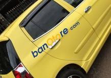 Bán xe cũ Kia Morning đời 2009, màu vàng, giá tốt