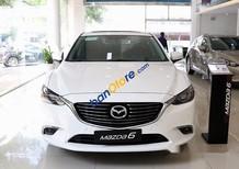 Bán xe Mazda 6 AT đời 2017, màu trắng