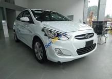 Bán xe Hyundai Accent Blue 1.4AT sản xuất 2017, màu trắng, nhập khẩu nguyên chiếc, giá chỉ 572 triệu