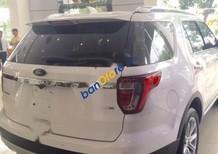 Bán xe Ford Explorer Limited 2.3AT đời 2017, màu trắng, nhập khẩu chính hãng