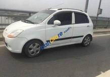 Cần bán gấp Chevrolet Spark MT đời 2008, màu trắng