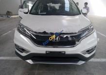 Cần bán Honda CR V 2.4AT đời 2016, màu trắng