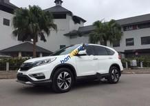 Cần bán xe Honda CR V đời 2015, màu trắng