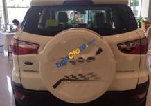 Cần bán Ford EcoSport Titanium 1.5AT sản xuất 2017, màu trắng, giá chỉ 590 triệu